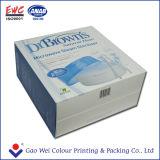 Caixa de papel personalizada da cor do frasco de leite