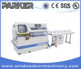Tagliatrice altamente automatica di tasto dell'angolo del portello della finestra di alluminio di CNC