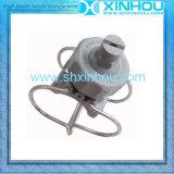 Inyectores de aerosol planos plásticos de la abrazadera de pipa