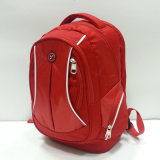 Form Red Backpack für School, Laptop, Hiking, Travel