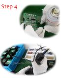 Or Glass Touch Control Switches Plate Auto Socket Switch pour Light Window Home 2gang 2way Wall Switch pour DEL Screen Lamp