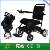 180W Lightweight Folding Electric Wheelchair con Lithium Battery