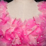 لون قرنفل زهرات خرزة تول يرتدي [بروم] طويلة ([تم-مس023])