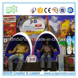 3dof Electric 9d Vr Cinema Simulator con 2 Egg Seats