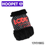 Winter nero Coat per Dog e Sweater per Dogs