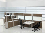 New Design Modern Wooden Manager Office Partition (HF-SI086)