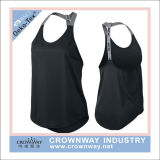 Women Sportswear Custom Gymwear Polyester Dri Fit Tank Top