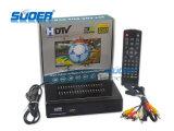 Caixa superior ajustada do receptor 1080P HD DVB da televisão satélite de Suoer Digital Video Broadcasting HD Hvb-T2