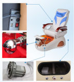 鉱泉のPedicureの自由な椅子を垂直にする元の専門職のガラス繊維のたらいは使用した