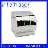 De muur zette Automaat van het Weefsel van de Badkamers van het Toilet van Roestvrij staal 304 de Hand op