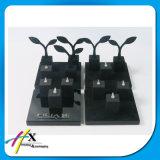 Piano Negro Lacado Jewelry Display para Tiendas de Lujo Personalizados