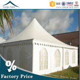 PVC Large Pagoda Tents 8m x 8m Cone Shaped Opaque с Window Walls