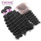 Hair brasiliano Bundles con Lace Closure