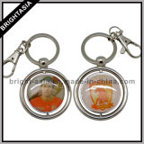 Spinnendes Key Ring mit Printed Logo auf Both Side (BYH-10673)