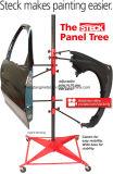 自動ボディーペイントの立場の木のパネルのホールダーはカートを分ける