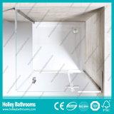 Chuveiro impermeável de alumínio Door-Se707c do vidro Tempered da barra da ferragem do aço inoxidável