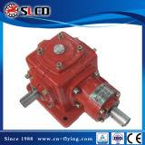 1: 1 Verhältnis-rechtwinklige Antriebswelle eingehangener schraubenartiger abgeschrägter Getriebemotor