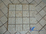 Azulejo oxidado amarillo natural modificado para requisitos particulares G682 del granito