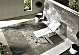 Azulejo de suelo rústico de azulejo de la pared de piedra del cemento del azulejo Sn6671-04