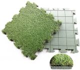 DIYの子供のための人工的な草の困惑
