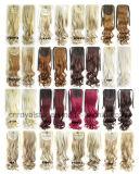 Ponytail волнистое 80g 55cm тесемки высокотемпературного выдвижения волос волокна однокрасочный