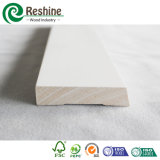 Moldeado de madera impermeable preparado blanco de FJ