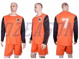 Halsausschnitt-Wärme-Presse-Qualität Sportwear Fußballjerseys-Fußball-Hemd