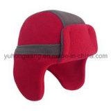 Sombrero/casquillo polares hechos punto calientes del paño grueso y suave del invierno promocional