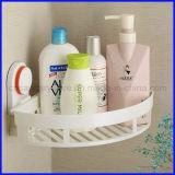 Dusche-Korb-Absaugung-Cup für Küche-und Badezimmer-Eckspeicher-Organisator-Zahnstange