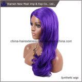 Peruca sintética bonita do cabelo para a senhora