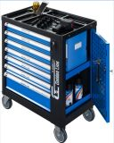 258PCS Super Tool Trolley Set for Roller Cabinet Tool Kit, 7 Drawer Tools Trolley Set