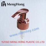 Pompe verrouillée de lotion d'or UV de Rose pour le shampooing
