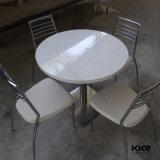 Tabela de jantar de pedra artificial moderna do restaurante de 4 Seater ajustada (61020)