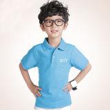 Teeshirt de polo d'enfants de coton