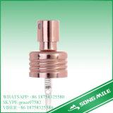 24/410 de pulverizador dourado de alumínio da névoa do lustro para o líquido