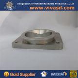CNCによって機械で造られるアルミニウム鋼片の部品