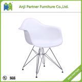 良質の中国製居間の使用PPのプラスチック食事の椅子(珊瑚)