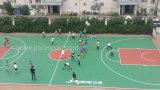 Всепогодное сопротивление и UV настил баскетбольной площадки сопротивления