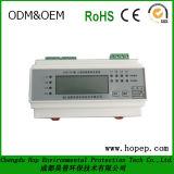 Mètre modulaire de l'électricité monté par rial DIN, mètre d'écran LCD