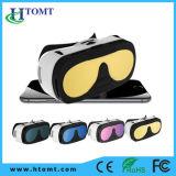 Vidros video da realidade virtual 3D dos vidros da caixa quente de Vr do Sell para 4.6-6.5