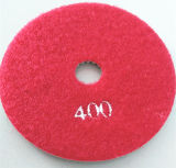 4 tipo della granulosità del tampone a cuscinetti per lucidare 2000 della spugna di pollice - azzurro 2