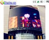 P10フルカラーの屋外LEDのビデオ壁