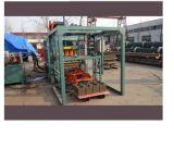 Fabrik, die hydraulische halb automatische konkrete hohle Maschine des Block-Qt4-20 in Afrika verkauft