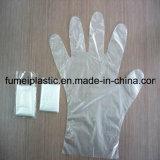 PET Handschuh-Plastikhandschuh-transparente Wegwerfhandschuhe