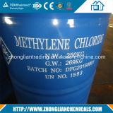 Cloruro de metileno de China para la fabricación del colchón