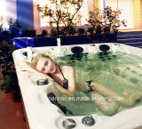 Water solare Pump Jet Parte Whirlpool Bathtub con 3 Loungers
