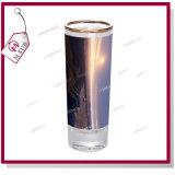 塗られた金縁の昇華は写真によって印刷されたワイングラスを個人化した
