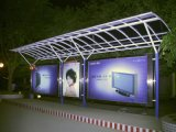 Bus Stop Shelter pour Advertizing
