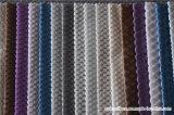 Tissu de sofa de polyester de cation de modèle moderne