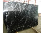 Lastre di marmo Polished di Nero Marquine di alta qualità calda